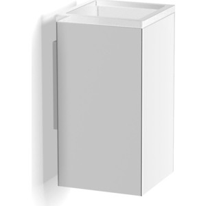 Стакан к стене квадратный Langberger Vico (30011A) хром