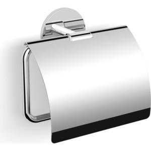 Бумагодержатель с крышкой на клейкой основе 3 мм Langberger (30841A) хром бумагодержатель с крышкой milardo amur amusmc0m43