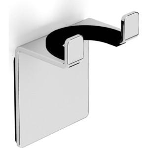 Крючок двойной универсальный на клейкой основе 3 мм Langberger (75183-10-00) хром велокамера schwalbe 54 75 584 мм 27 5x2 10 3 00 av21f 10400030