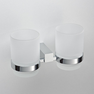 Стакан (стекло) двойной Schein Rembrandt (064) хром бумагодержатель с крышкой schein rembrandt 066b2 r хром
