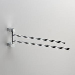 Полотенцедержатель поворотный двойной Schein Swing (32824) хром полотенцедержатель одинарный 50 см schein allom 22812 хром