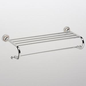 Полка для полотенца прямая Schein Saine Chrome (7053042) хром полотенцедержатель двойной schein saine chrome 7053040 хром