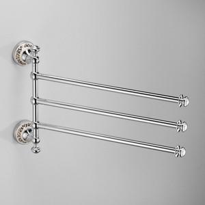 Полотенцедержатель тройной Schein Saine Chrome (7053052) хром полотенцедержатель одинарный 50 см schein allom 22812 хром