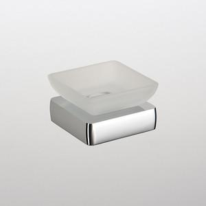 Мыльница (стекло) настольная Schein Elite (7057006) хром мыльница керамическая к стене schein superior 7066004 хром