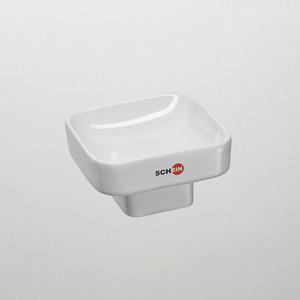 Мыльница (керамика) Schein Allom (02-SA) белый мыльница керамическая к стене schein superior 7066004 хром