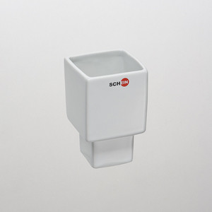Стакан (керамика) квадратный Schein (04-S) белый цена