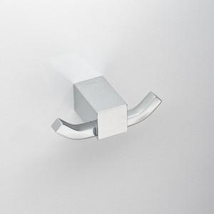 Крючок двойной Schein Rembrandt (061*2) хром бумагодержатель с крышкой schein rembrandt 066b2 r хром