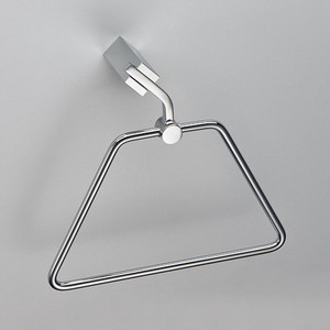 Полотенцедержатель-трапеция Schein Watteau (125B1) хром полотенцедержатель одинарный 50 см schein allom 22812 хром