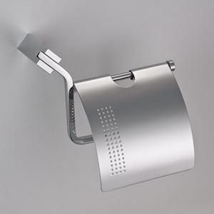 Бумагодержатель с крышкой Schein Watteau (126B2-R) хром бумагодержатель без крышки квадрат schein van gogh 056 хром