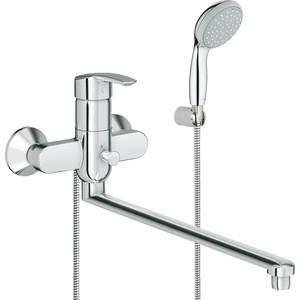 Смеситель для ванны Grohe Multiform с душевым гарнитуром tempesta duo (32708000)  grohe multiform 32708000 универсальный