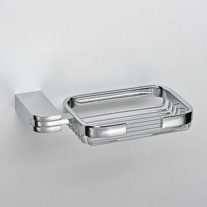 Мыльница Schein Allom (222B) хром полотенцедержатель одинарный 50 см schein allom 22812 хром