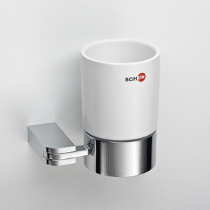 Стакан (керамика) Schein Allom (223C) хром полотенцедержатель одинарный 50 см schein allom 22812 хром