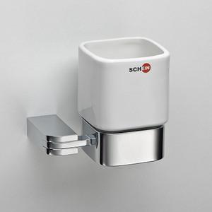 Стакан (керамика) Schein Allom (223CS) хром полотенцедержатель одинарный 50 см schein allom 22812 хром