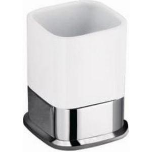 Стакан керамика настольный Schein Allom (223CS-T) хром полотенцедержатель одинарный 50 см schein allom 22812 хром