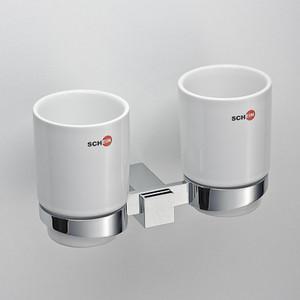 все цены на Стакан (керамика) двойной Schein Durer (264C) хром онлайн