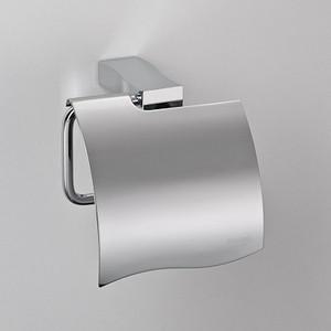 Бумагодержатель с фигурной крышкой Schein Swing (326B1) хром