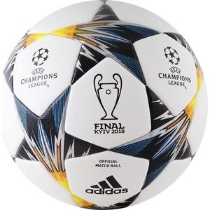 Мяч футбольный Adidas Finale18 Kiev OMB CF1203 р.5 официальный мяч финала ЛЧ 18 мяч футбольный любительский р 5 umbro veloce supporter 20808u stt
