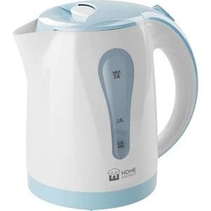 Чайник электрический Home Element HE-KT156 белый/синий цена и фото