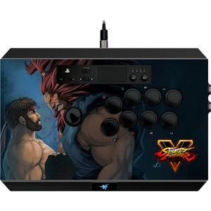 Игровой контроллер Razer Panthera Street Fighter V (PS4/ PC) wired controller nacon revolution pro controller 2 ps4 pc sleh 00446