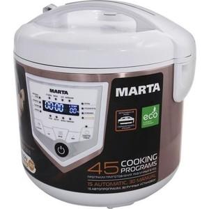 Мультиварка Marta MT-4301 бронзовый агат мультиварка marta mt 4314 860 вт 5 л темный агат