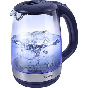 Чайник электрический Lumme LU-135 синий сапфир lumme lu 1004 щипцы для завивки волос синий сапфир