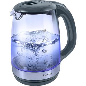 Чайник электрический Lumme LU-135 серый жемчуг чайник дисковый 1800вт 2л lumme lu 219