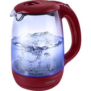Чайник электрический Lumme LU-134 красный гранат безмен lumme lu 1326