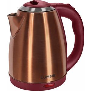 Чайник электрический Lumme LU-132 красный рубин ключница samsonite ключница spectrolite slg 7x13x1 5 см