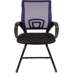 Офисноекресло Chairman 696 V TW-05 синий компьютерное кресло chairman 696 tw 05 синее