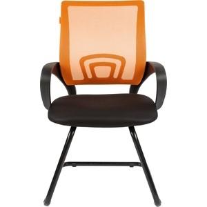 Офисноекресло Chairman 696 V TW оранжевый компьютерное кресло chairman 696 tw 05 синее
