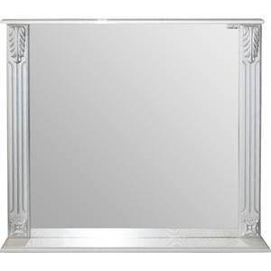 Зеркало Mixline Людвиг 80 патина серебро (0305175330403) зеркало mixline сальери 80 патина золото 0305175330434