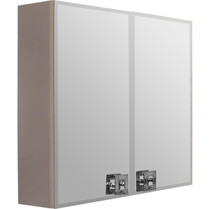 Зеркальный шкаф Mixline Мальта 80 капучино (2181105252629) bas мальта