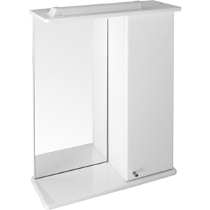 Шкаф навесной Mixline Бриз 50 белый правый (1705165298659)