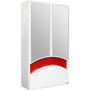 где купить Шкаф навесной Mixline Радуга 46 красный (2130305224752) по лучшей цене