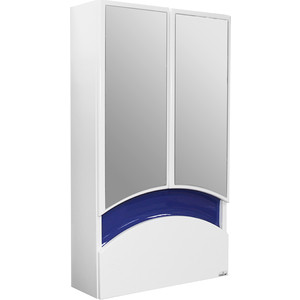 Шкаф навесной Mixline Радуга 46 синий (2070505229518) печь банная радуга пб31б навесной бак 55л