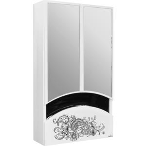 Шкаф навесной Mixline Радуга 46 Цветы белый (2131105280429) печь банная радуга пб31б навесной бак 55л