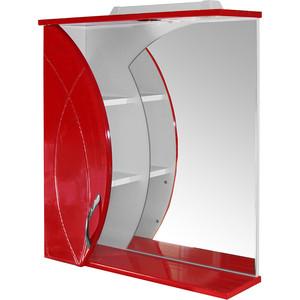 Шкаф навесной Mixline Магнолия 61 вишня левый (1310175349750)