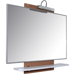 Зеркало Mixline Камелия 90 сборное со светильником (2210105258932) ваза камелия глянц