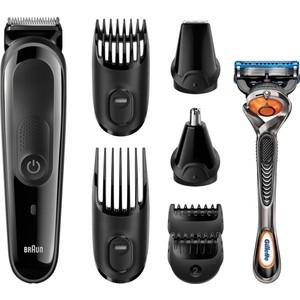 Машинка для стрижки волос Braun MGK3060+RZR braun jb 3060 bk