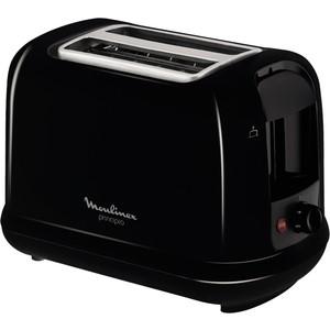 Тостер Moulinex LT160830 черный тостер moulinex tt1102 principio black