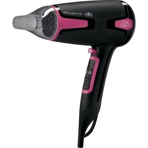 Фен Rowenta CV3812F0 черный/розовый цена