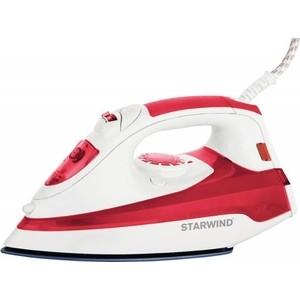 Утюг StarWind SIR5824 красный/белый starwind sir5830 gray white утюг