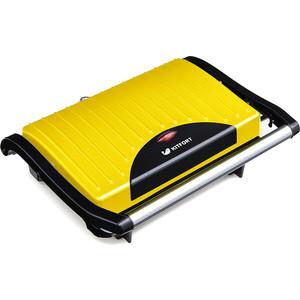 Сэндвичница KITFORT KT-1609-2 желтый/черный бутербродница kitfort kt 1609 2 желтый