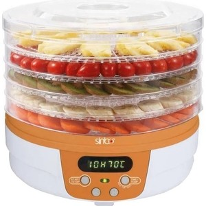 Сушилка для овощей Sinbo SFD 7402 оранжевый сушка для овощей и фруктов sinbo sfd 7401 250вт белый