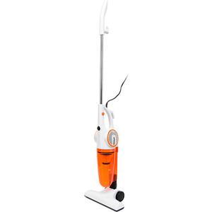 Пылесос KITFORT КТ-523-1 белый/оранжевый ручной пылесос handstick kitfort kt 526 1 400вт синий белый