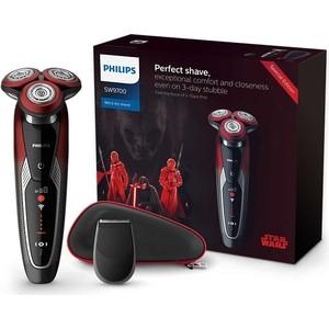 Бритва Philips SW9700/67 красный/черный цена