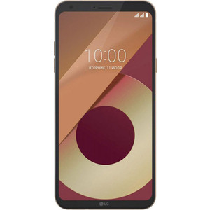 Смартфон LG Q6 M700AN 32Gb Black Gold клип кейс guess silicone для apple iphone xs max черный