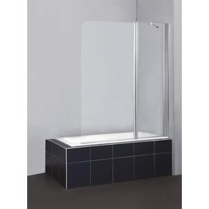 Душевая шторка на ванну BelBagno SELA-V-11-120/140-C-Cr стекло порзрачное