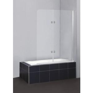 Душевая шторка на ванну BelBagno SELA-V-21-120/140-C-Cr стекло порзрачное душевая шторка на ванну belbagno sela v 11 120 140 ch cr r стекло chinchilla