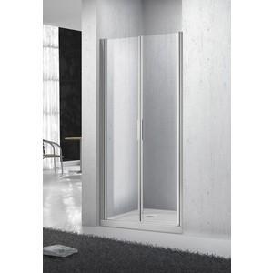 Душевая дверь в нишу BelBagno SELA-B-2-80-Ch-Cr стекло Chinchilla душевая шторка на ванну belbagno sela v 11 120 140 ch cr r стекло chinchilla